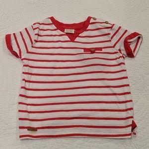 Zara baby striped tee shirt